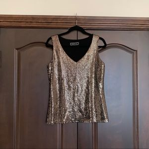 Gold Camisole Size Small fit Small/Medium